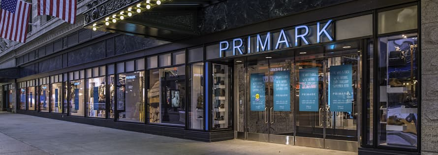 Mood Media's Technomedia Creates Audio-Visual for Primark's First U.S. Location