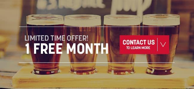 free digital beer menus