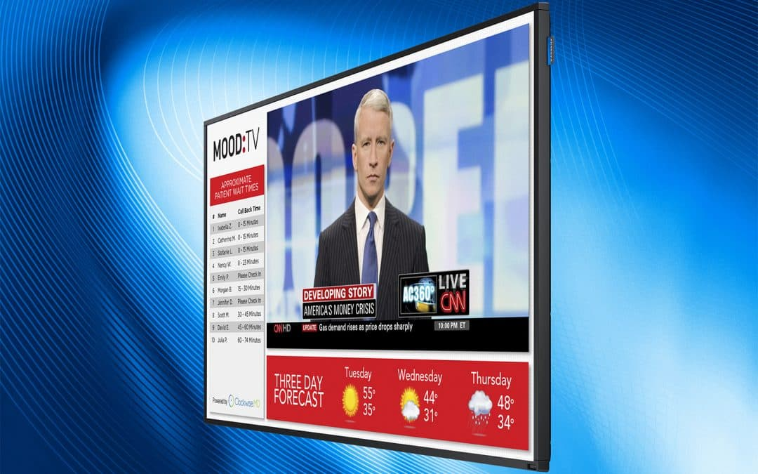 Mood Sight Solutions Now Available via Samsung Smart Signage